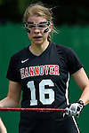GER - Hannover, Germany, May 30: During the Women Lacrosse Playoffs 2015 match between DHC Hannover (black) and SC Frankfurt 1880 (red) on May 30, 2015 at Deutscher Hockey-Club Hannover e.V. in Hannover, Germany. Final score 23:3. (Photo by Dirk Markgraf / www.265-images.com) *** Local caption ***Anna Blank #16 of DHC Hannover