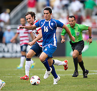 Mix Diskerud, Marcelo Posadas Galeano.  The United States defeated El Salvador, 5-1, during the quarterfinals of the CONCACAF Gold Cup at M&T Bank Stadium in Baltimore, MD.