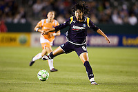 LA Sol's Han Duan on the move. The LA Sol defeated Sky Blue FC 1-0 at Home Depot Center stadium in Carson, California on Friday May 15, 2009.   .