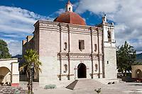 Mitla, Oaxaca, Mexico.  Church of San Pablo.