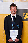 Boys Tennis winner Jamie Eccleton from Mt Albert Grammar School. ASB College Sport Auckland Secondary School Young Sports Person of the Year Awards held at Eden Park on Thursday 12th of September 2009.