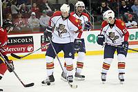 Niedergeschlagene Gesichter bei den Florida Panthers<br /> New Jersey Devils vs. Florida Panthers<br /> *** Local Caption *** Foto ist honorarpflichtig! zzgl. gesetzl. MwSt. Auf Anfrage in hoeherer Qualitaet/Aufloesung. Belegexemplar an: Marc Schueler, Am Ziegelfalltor 4, 64625 Bensheim, Tel. +49 (0) 6251 86 96 134, www.gameday-mediaservices.de. Email: marc.schueler@gameday-mediaservices.de, Bankverbindung: Volksbank Bergstrasse, Kto.: 151297, BLZ: 50960101