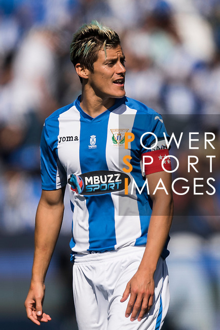 Martin Mantovani of Deportivo Leganes looks on during their La Liga match between Deportivo Leganes and Sevilla FC at the Butarque Municipal Stadium on 15 October 2016 in Madrid, Spain. Photo by Diego Gonzalez Souto / Power Sport Images