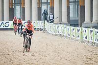 Denise Betsema (NED/Pauwels Sauzen-Bingoal)<br /> <br /> UCI 2021 Cyclocross World Championships - Ostend, Belgium<br /> <br /> Women's Race<br /> <br /> ©kramon