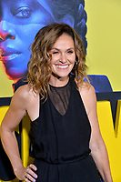 """LOS ANGELES, USA. October 15, 2019: Amy Brenneman at the premiere of HBO's """"Watchmen"""" at the Cinerama Dome, Hollywood.<br /> Picture: Paul Smith/Featureflash"""
