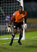 Kendall McIntosh. The United States played Jamaica during the CONCACAF Men's Under 17 Championship at Catherine Hall Stadium in Montego Bay, Jamaica.