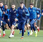 01.03.2019: Rangers training: Kyle Lafferty