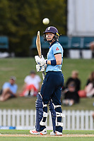 23rd February 2021, Christchurch, New Zealand;  Heather Knight  of England reaches 50 runs during the 1st ODI Cricket match, New Zealand versus England, Hagley Oval, Christchurch, New Zealand