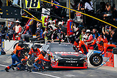 NASCAR XFINITY Series<br /> Lilly Diabetes 250<br /> Indianapolis Motor Speedway, Indianapolis, IN USA<br /> Saturday 22 July 2017<br /> Kyle Busch, NOS Energy Drink Rowdy Toyota Camry pit stop<br /> World Copyright: Russell LaBounty<br /> LAT Images