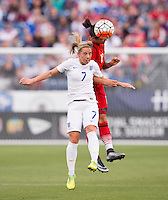 Nashville, TN - March 6, 2016: Germany defeated England 2-1 in the SheBelieves Cup at Nissan Stadium.