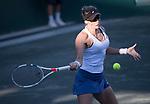 Mirjana Lucic-Baroni (CRO) defeated Shelby Rogers (USA) 6-7, 6-1, 6-1