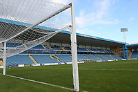 General view of the Medway Stand at Gillingham FC during Gillingham vs Oxford United, Sky Bet EFL League 1 Football at the MEMS Priestfield Stadium on 10th October 2020