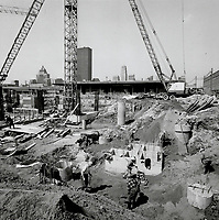 Canada - Ontario - Toronto - Toronto Star - Buildings - 1 Yonge St - Construction - 1970 - Jan to June<br /> <br /> <br /> Griffin, Doug<br /> Picture, 1970,