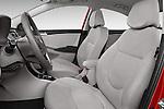 Front seat view of a 2015 Hyundai Accent GLS 4-Door 6-Speed Automatic 2 Door Sedan Front Seat car photos