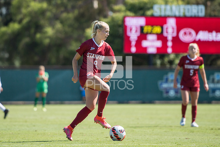 STANFORD, CA - SEPTEMBER 12: Astrid Wheeler during a game between Loyola Marymount University and Stanford University at Cagan Stadium on September 12, 2021 in Stanford, California.