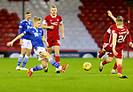 Aberdeen v St Johnstone…26.12.20   Pittodrie      SPFL<br />Ali McCann and Dean Campbell<br />Picture by Graeme Hart.<br />Copyright Perthshire Picture Agency<br />Tel: 01738 623350  Mobile: 07990 594431