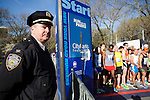 Central park race in New York ,  Amid Increased Security In Boston Aftermath