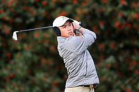 PINEHURST, NC - MARCH 02: Wei Wei Gao of the University of Virginia tees off on the first hole at Pinehurst No. 2 on March 02, 2021 in Pinehurst, North Carolina.