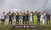 Columbus, Ohio - Friday, November 11, 2016: Mexico, United States  during a USMNT vs Mexico WCQ at Mapfre Stadium. Mexico defeated the USA 2-1.