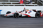 Verizon IndyCar Series driver Tristan Vautier (18) in action during the RainGuard 600 race at Texas Motor Speedway in Fort Worth,Texas.