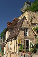 Maison a colombage du village de Rocamadour