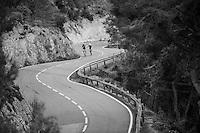 The Tossa de Mar training loop alongside the Costa Brava (Girona / Spain)