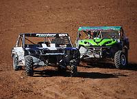 Dec. 11, 2011; Chandler, AZ, USA;  LOORRS UTV driver Ryan Beat during the Lucas Oil Challenge Cup at Firebird International Raceway. Mandatory Credit: Mark J. Rebilas-