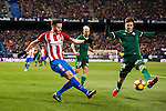 Saul Niguez Esclapez of Atletico de Madrid in action during their La Liga 2016-17 match between Atletico de Madrid vs Real Betis Balompie at the Vicente Calderon Stadium on 14 January 2017 in Madrid, Spain. Photo by Diego Gonzalez Souto / Power Sport Images