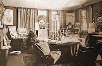 H.H. Richardson's Studio Interior.