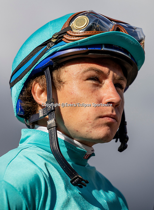 MAR 07: Drayden Van Dyke after winning the San Felipe Stakes at Santa Anita Park in Arcadia, California on March 7, 2020. Evers/Eclipse Sportswire/CSM
