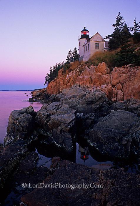 Bass Harbor Head Light  #LH2