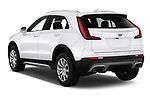 Car pictures of rear three quarter view of a 2020 Cadillac XT4 Premium Luxury 5 Door SUV angular rear