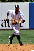 Staten Island Yankees infielder Cito Culver #2 during a game against the State College Spikes at Richmond County Bank Ballpark at St. George on July 14, 2011 in Staten Island, NY.  Staten Island defeated State College 6-4.  Tomasso DeRosa/Four Seam Images