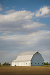 White Barn. Faustina, Ohio.