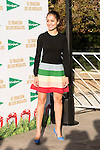 """The Spanish actress Hiba Abouk participates as sponsor in the third edition of """"Triathlon gifts """" organized by El Corte English in Madrid, December 03, 2015<br /> (ALTERPHOTOS/BorjaB.Hojas)"""