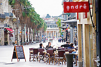 Cafe. Montpellier. Languedoc. France. Europe.