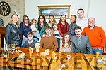 Leah Crowley from Lixnaw celebrating her birthday in Bella Bia on Saturday.<br /> Seated l to r: Seamus Keenan, Tom, Leah and John Crowley.<br /> Back l to r: Maureen Keenan, Liz Quirke, Catherine Keenan, Caroline Crowley, Ruby O'Riordan, Roisin Keenan, Kate, Clare and Mikey Crowley and Hughie Keenan.