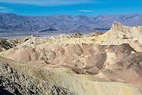 Death Valley, California.  Zabriskie Point.