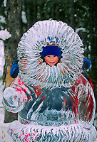 World Ice Art Championship, Kiddy park statue, Fairbanks, Alaska