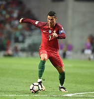 (170901) -- PORTO, Sept. 1, 2017 -- Cristiano Ronaldo of Portugal competes during the FIFA World Cup WM Weltmeisterschaft Fussball 2018 Qualifiers Group B match between Portugal and Faroe Islands at Bessa stadium in Porto, Portugal, on Aug. 31, 2017. Portugal won 5-1. <br /> Foto Zhang Liyun/Xinhua/Imago/Insidefoto