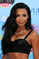 13 July 2020 - Naya Rivera, the actress best known for playing cheerleader Santana Lopez on Glee, has been confirmed dead. Rivera, 33, is believed to have drowned while swimming in the lake with her 4-year-old son, who was found asleep on their rental pontoon boat after it was overdue for return. 11 August 2013 - Universal City, California - Naya Rivera. 2013 Teen Choice Awards - Arrivals held at Gibson Amphitheatre. Photo Credit: Byron Purvis/AdMedia