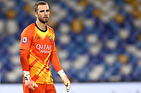 Pau Lopez of AS Roma<br /> during the Serie A football match between SSC  Napoli and AS Roma at stadio San Paolo in Naples ( Italy ), July 05st, 2020. Play resumes behind closed doors following the outbreak of the coronavirus disease. <br /> Photo Cesare Purini / Insidefoto
