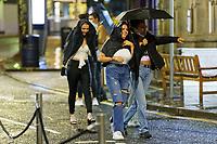 2020 11 20 Revellers days after the fire break lockdown in Wind Street, Swansea, Wales, UK