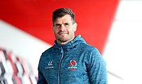 Monday 21st October 2019 | Ulster Rugby Match Briefing vs Cardiff<br /> <br /> Louis Ludik - Ulster Rugby Match Briefing ahead of Ulster PRO14 League clash against Cardiff Blues at Kingspan Stadium, Ravenhill Park, Belfast, Northern Ireland. Photo by John Dickson / DICKSONDIGITAL