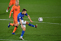 Marco Verratti of Italy in action during the Uefa Nation A League Group 1 football match between Italy and Netherlands at Atleti azzurri d Italia Stadium in Bergamo (Italy), October, 14, 2020. Photo Andrea Staccioli / Insidefoto
