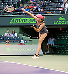 March 28 2018: Danielle Collins (USA) defeats Venus Williams (USA) by 6-2, 6-3, at the Miami Open being played at Crandon Park Tennis Center in Miami, Key Biscayne, Florida. ©Karla Kinne/Tennisclix/CSM