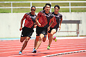 Athletics: Japan national relay team training camp
