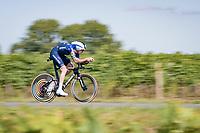 Mattia Cattaneo (ITA/Deceuninck-Quick Step)<br /> <br /> Stage 20 (ITT) from Libourne to Saint-Émilion (30.8km)<br /> 108th Tour de France 2021 (2.UWT)<br /> <br /> ©kramon