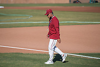 STANFORD, CA - MAY 27: David Esquer before a game between Oregon State University and Stanford Baseball at Sunken Diamond on May 27, 2021 in Stanford, California.