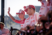 Mathieu Van Der Poel (NED/Correndon-Circus) at team presentation<br /> <br /> 54th Amstel Gold Race 2019 (1.UWT)<br /> One day race from Maastricht to Berg en Terblijt (NED/266km)<br /> <br /> ©kramon